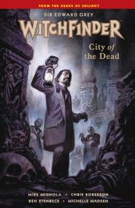 Witchfinder: City of the Dead Cover