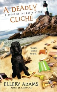 A Deadly Cliche by Ellery Adams cover