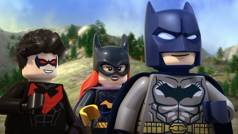 The batfamily in LEGO® DC Comics Super Heroes - Justice League: Gotham City Breakout