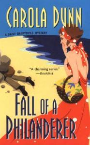 Fall of a Philanderer Daisy Dalrymple 14 by Carola Dunn