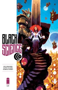 Black Science #22 Cover Art
