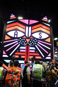 Adult Swim booth at Comic-Con International: San Diego 2016