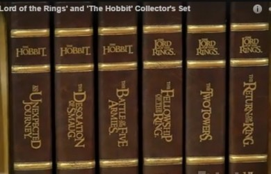 All six Lord of the Rings films together in their cases