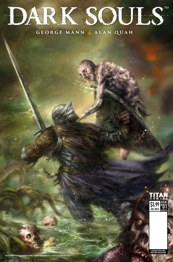 Dark Souls: Winter's Spite Cover C by Nick Percival