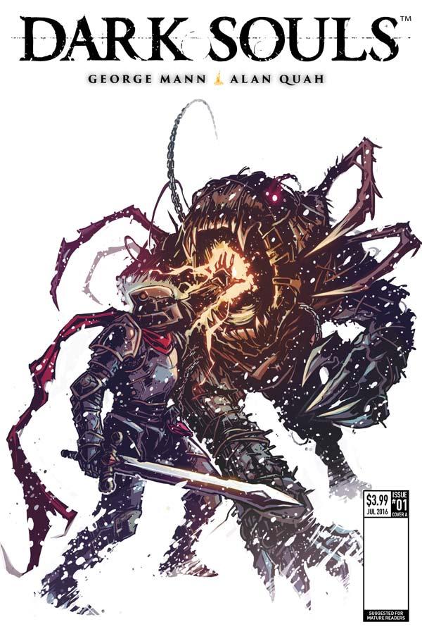 Dark Souls: Winter's Spite Cover E  Cover E by Caspar Wijngaard