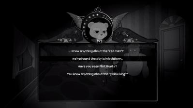 Bear With Me dialogue choice