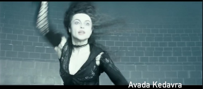 Harry Potter Spells: Avada Kedavra