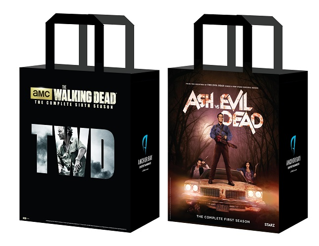 The Walking Dead Season Six and Ash and the Evil Dead Bag
