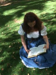 Medieval Belle Cosplay