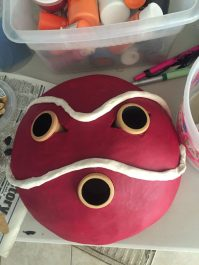 San Mask from Princess Mononoke