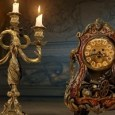 Cogsworth and Lumiere in the live-action Beauty and the Beast