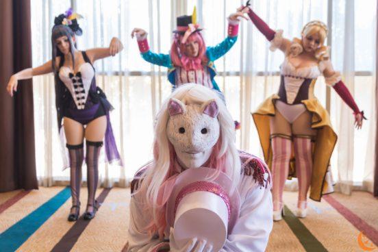 Lunar Lyn, NyuNyu, Luluko & KaitoAida - Madoka Circus