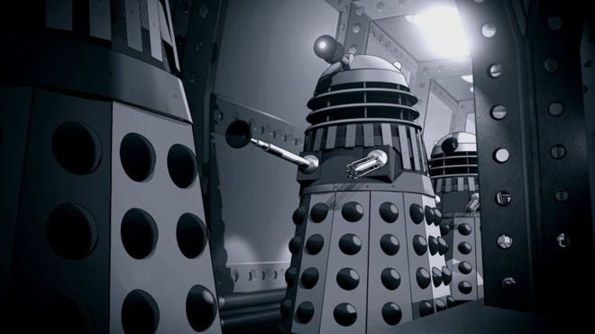 The Power of the Daleks Animated Cel