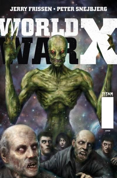 World War X #1 Cover C Nick Percival