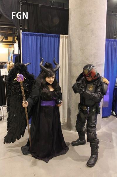 Maleficent and Dredd
