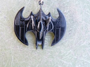 Stealth Batwing Key Chain