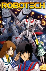 First Glimpse of Robotech Art from Titan's Upcoming Comic
