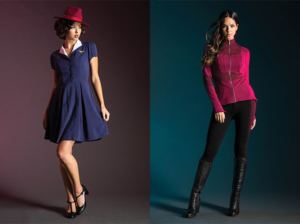 Agent Carter and Scarlet Witch looks