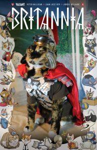 Britannia #4 Valiant Cat Cosplay Cover