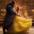 Beauty and the Beast dancing together