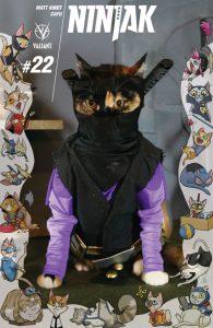 Ninjak #2 Valiant Cat Cosplay Cover