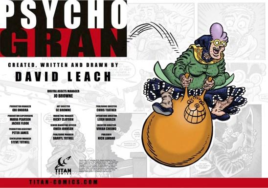 Psycho Gran #2 Credits