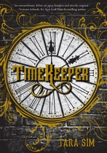 TimeKeeper by Tara Sim cover