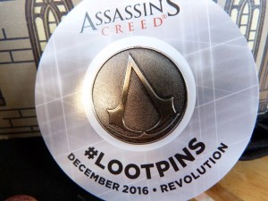 Assassin's Creed Loot Pin