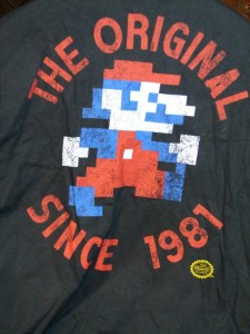 Super Mario Pixelated T-shirt