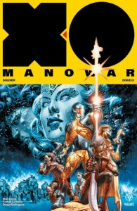 X-O MANOWAR (2017) #1 – Cover A by Lewis LaRosa