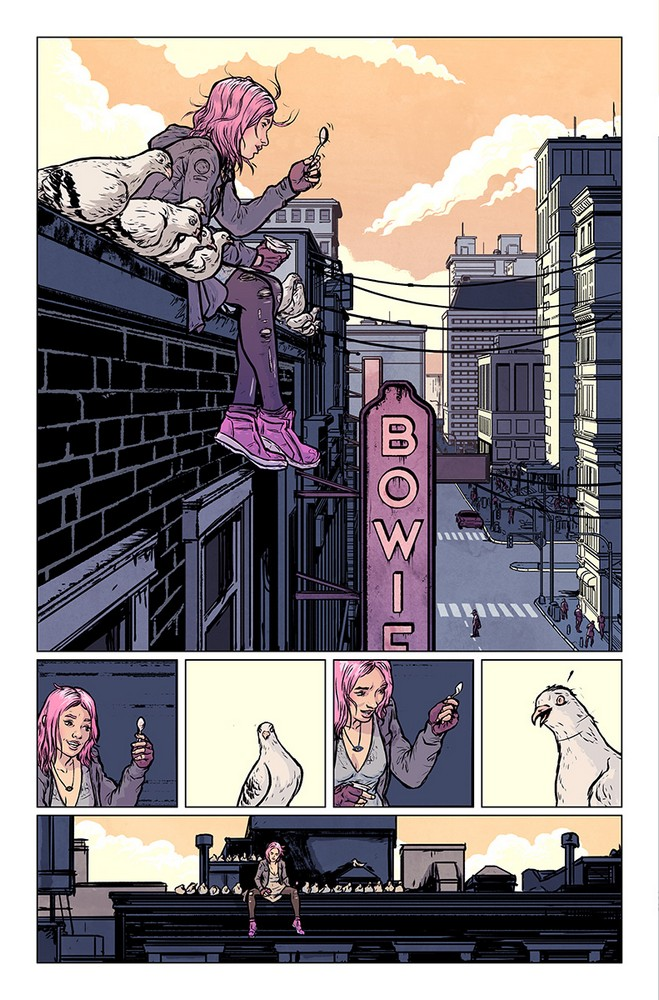SECRET WEAPONS #1 –preview page 1 of 6