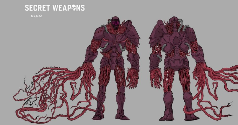 SECRET WEAPONS #1 –Designs #2 of 2