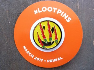 The March 2017 Primal Loot Crate Pin
