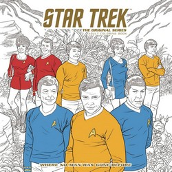 Star Trek the Original Series Coloring Book Cover
