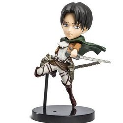 Levi Figurine from April's Humanity Anime Loot Crate