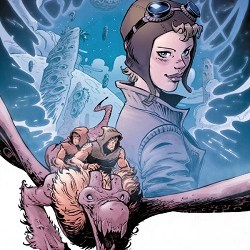 Elsewhere Cover with Amelia Earhart