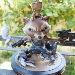 May 2017 Loot Crate--Rocket & Groot Q-Fig
