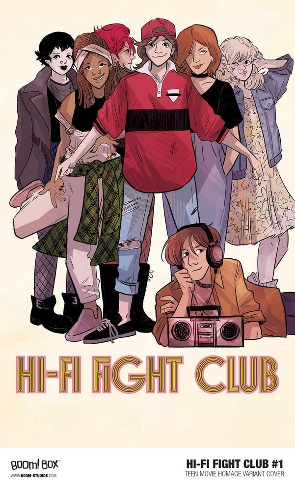 Hi Fi Fight Club #1 Cover B