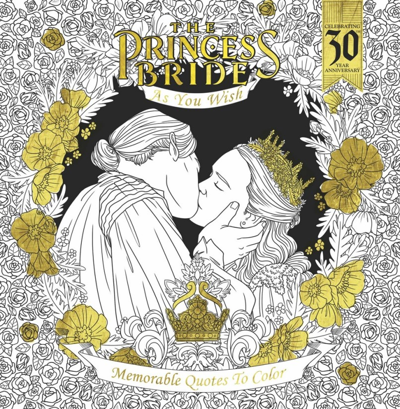 The Princess Bride 30th Anniversary Coloring Book