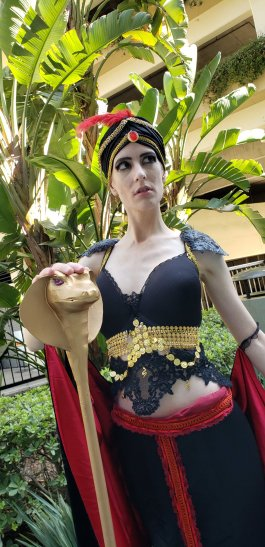 Femme Jafar by Amber Brite Props