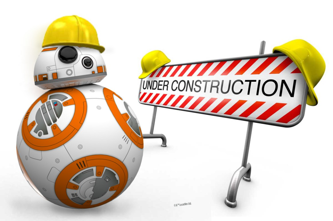 BB8 Under Construction