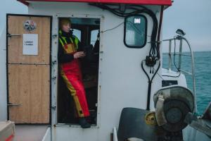 Fisker bruker fangstdagboka