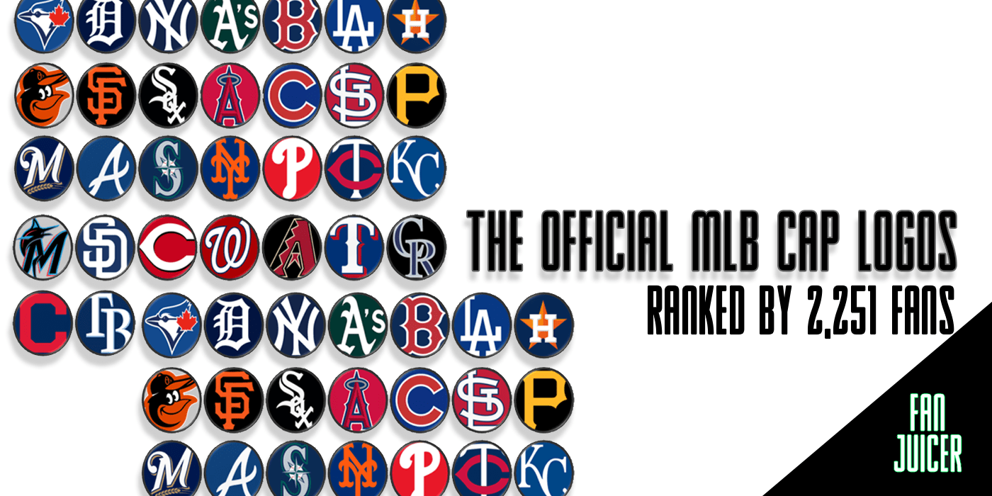 The Official Mlb Cap Logos Ranked By Over 2 000 Fans Fanjuicer Com