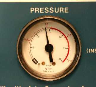 autoclave pressure zoomed in