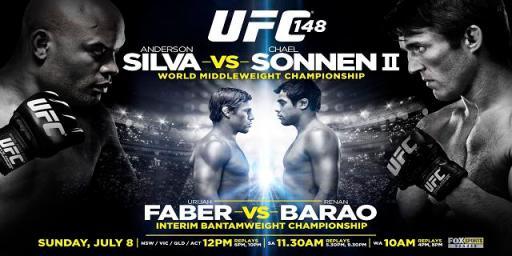 UFC 148: Silva Vs Sonnen II   ...