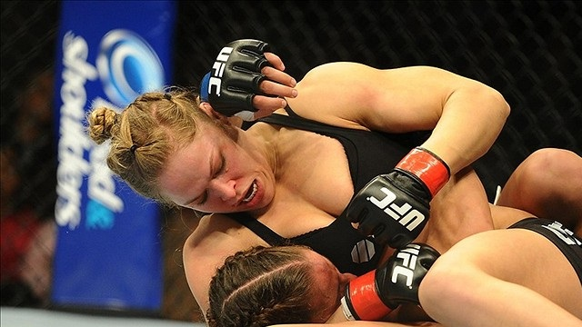 Ronda Rousey discusses the finer points of boobs...