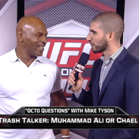 Ariel Helwani interviews Mike Tyson on UFC Tonight