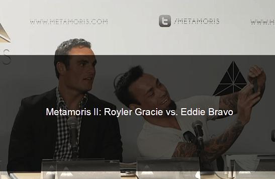 Eddie Bravo vs Royler Gracie @ Metomoris II