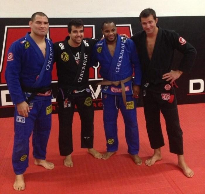 Cain Velasquez bjj black belt