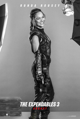 ronda rousey expendable3 poster